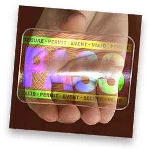 Holographic Overlay ID Cards